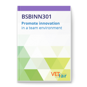BSBINN301 Promote innovation in a team environment