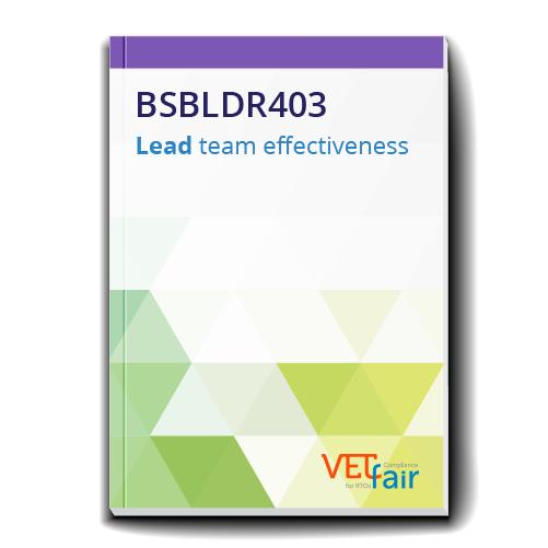 BSBLDR403 Lead team effectiveness