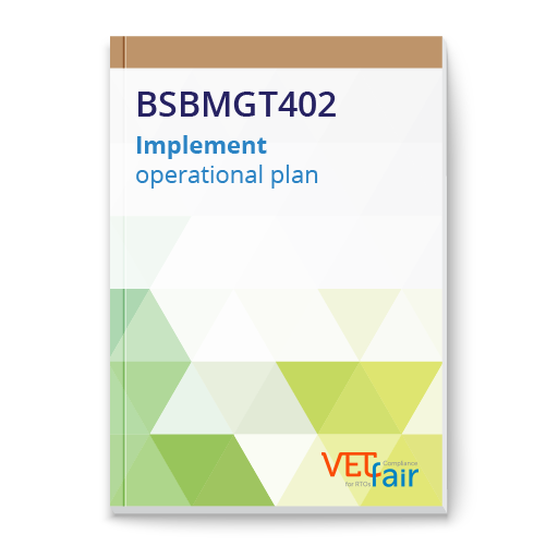 BSBMGT402 Implement operational plan