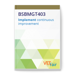 BSBMGT403 Implement continuous improvement