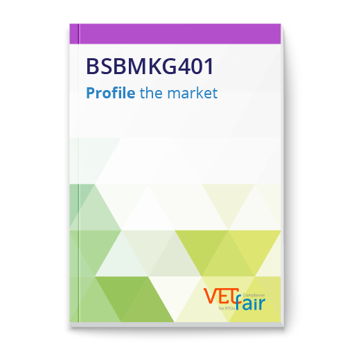 BSBMKG401 Profile the market