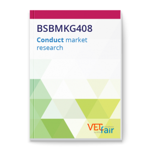 BSBMKG408 Conduct market research