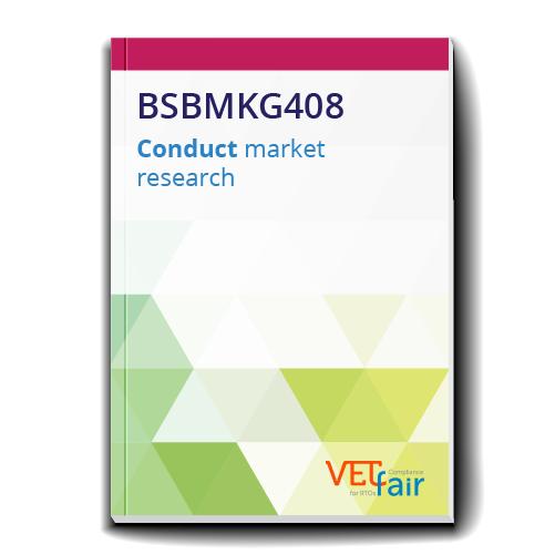 BSBMKG408 Conduct market research
