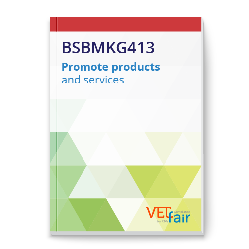 BSBMKG413 Promote products and services