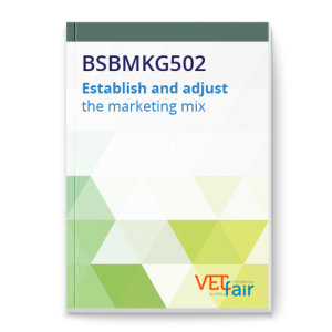 BSBMKG502 Establish and adjust the marketing mix