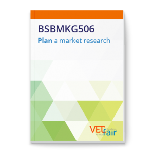 BSBMKG506 Plan market research