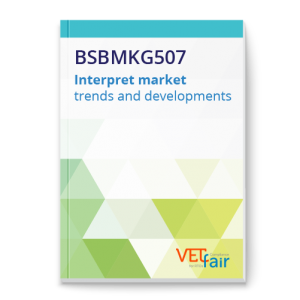 BSBMKG507 Interpret market trends and developments