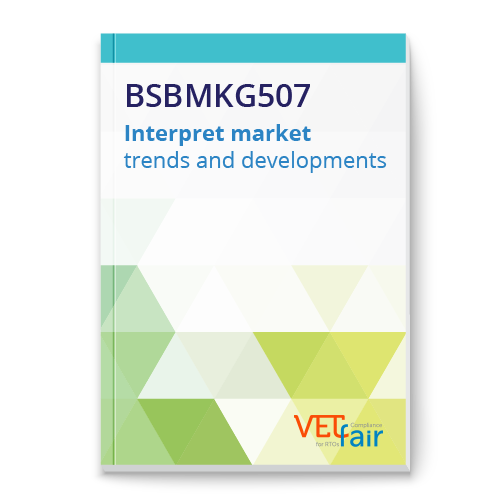 BSBMKG507 Interpret market trends and developments