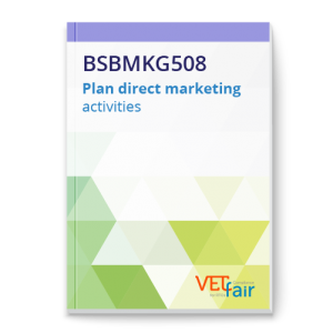 BSBMKG508 Plan direct marketing activities