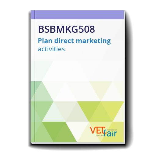 BSBMKG508 Plan direct marketing activities