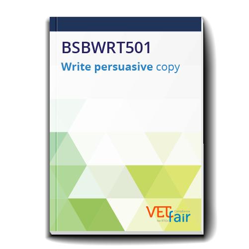 BSBWRT501 Write persuasive copy